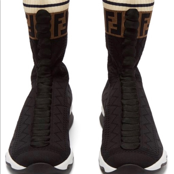 9ff47e2ad9e Fendi Shoes | Prefall 2018 Rockoko Knit Sneaker | Poshmark